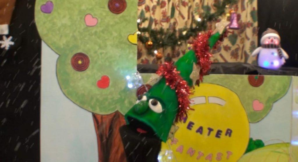 Kerst poppenkast 1