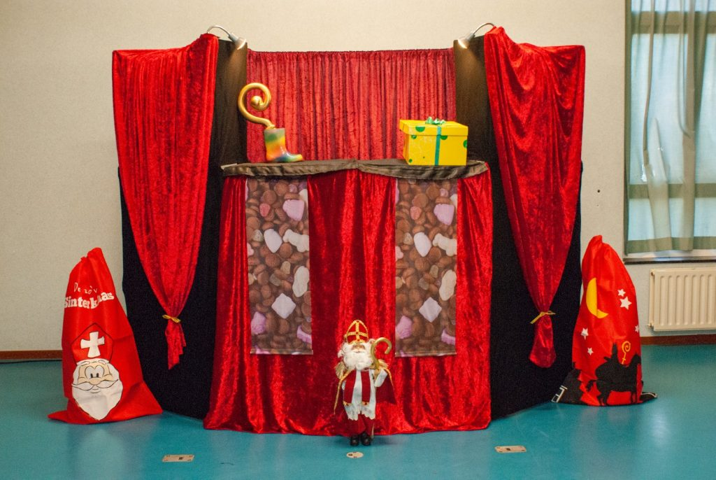 Sinterklaas velourstheater