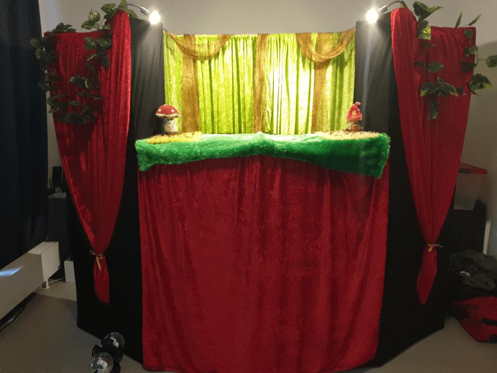 poppentheater kinderfeestje
